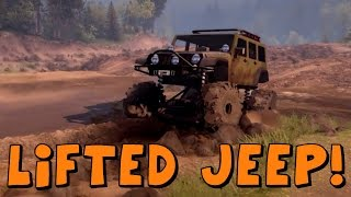 Spin Tires | Lifted Jeep Wrangler SID