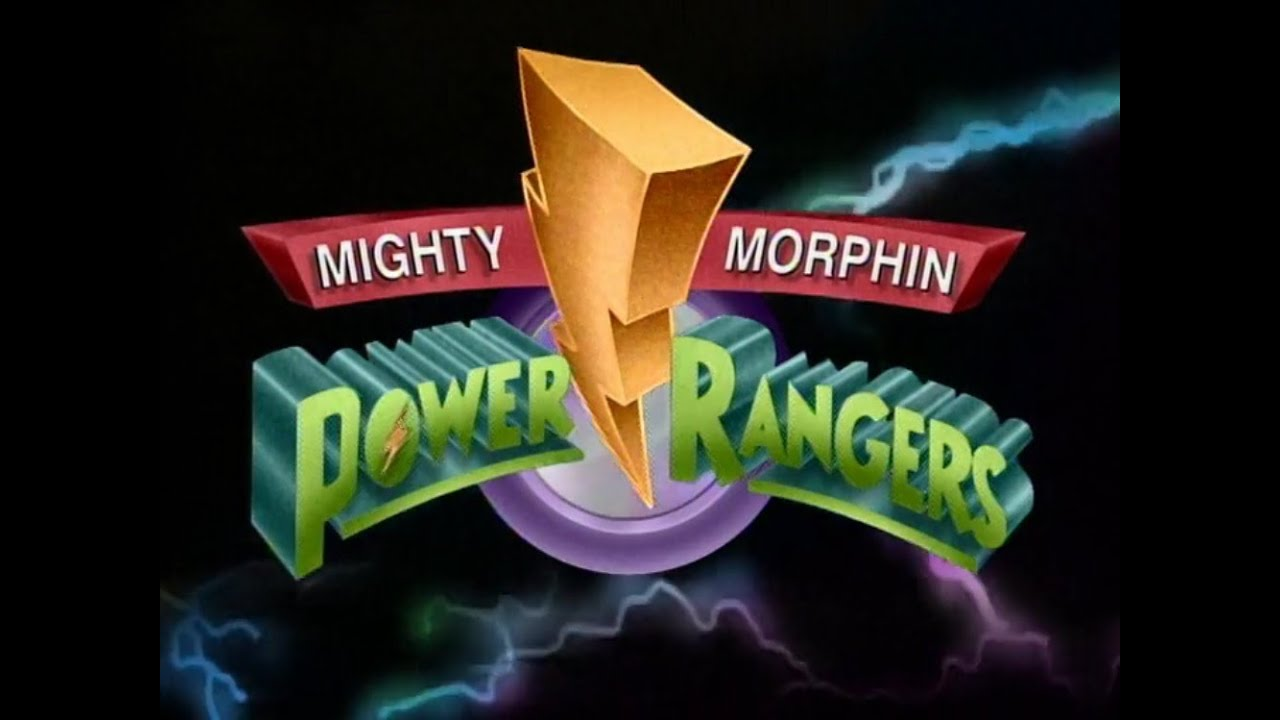 Mighty Morphin Power Rangers Logo Png