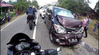 #5 Sunmori Crash  - Kecelakaan Beruntun 3 Mobil Crash !