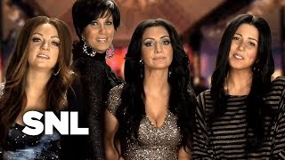 The Kim Kardashian Fairytale Divorce Special on E! - SNL
