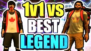 BEST LEGEND vs HANKDATANK25 1v1 • BIGGEST CHOKE EVER OMG • CRAZIEST 1v1 EVER + DID I GET EXPOSED??