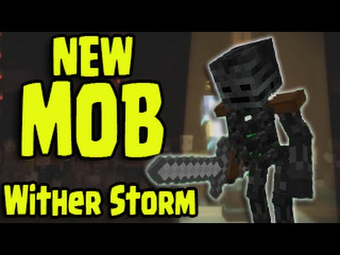 Minecraft New Boss Quot Wither Storm Quot Mob Minecraft Story Mode