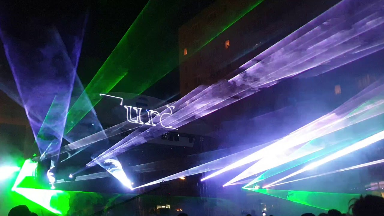 Show de lasere la Zilele Turzii (18.08.2019)