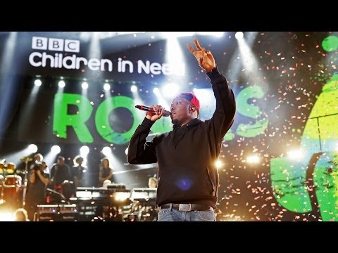 Dizzee Rascal - Love This Town at Children In Need Rocks 2013