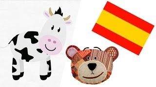 Farm animals in Spanish with Traposo