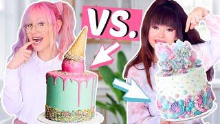 Crazy Torten BFF Battle 🎂 + Ankündigung!! | ViktoriaSarina
