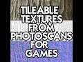How to create Tileable Textures from Pho
