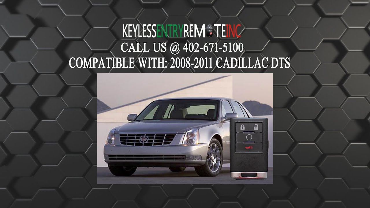 How To Replace Cadillac Dts Key Fob Battery 2008 2009 2010 2011