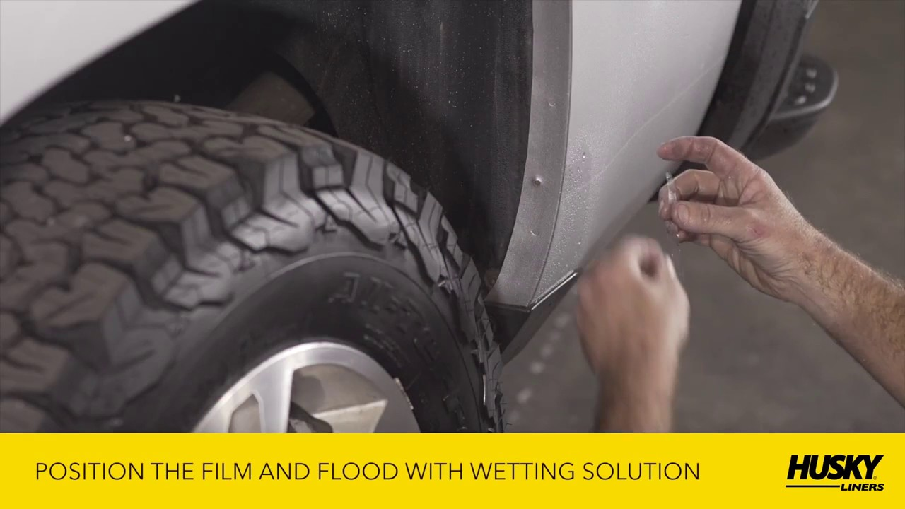 Husky Liners Custom Mud Guards Installation Tutorial How To Instructions Youtube