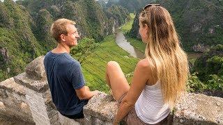 Unsere Gefühle in Vietnam - Ninh Binh - Trang An - Weltreise | VLOG #236