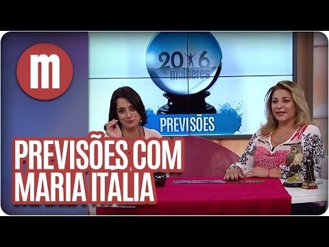 Mulheres - Previsões Com Maria Itália (10/03/16)