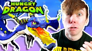 Hungry Dragon  GOLDHEIST SPECTRE SKIN  New XL Dragon (iPhone Gameplay Video)