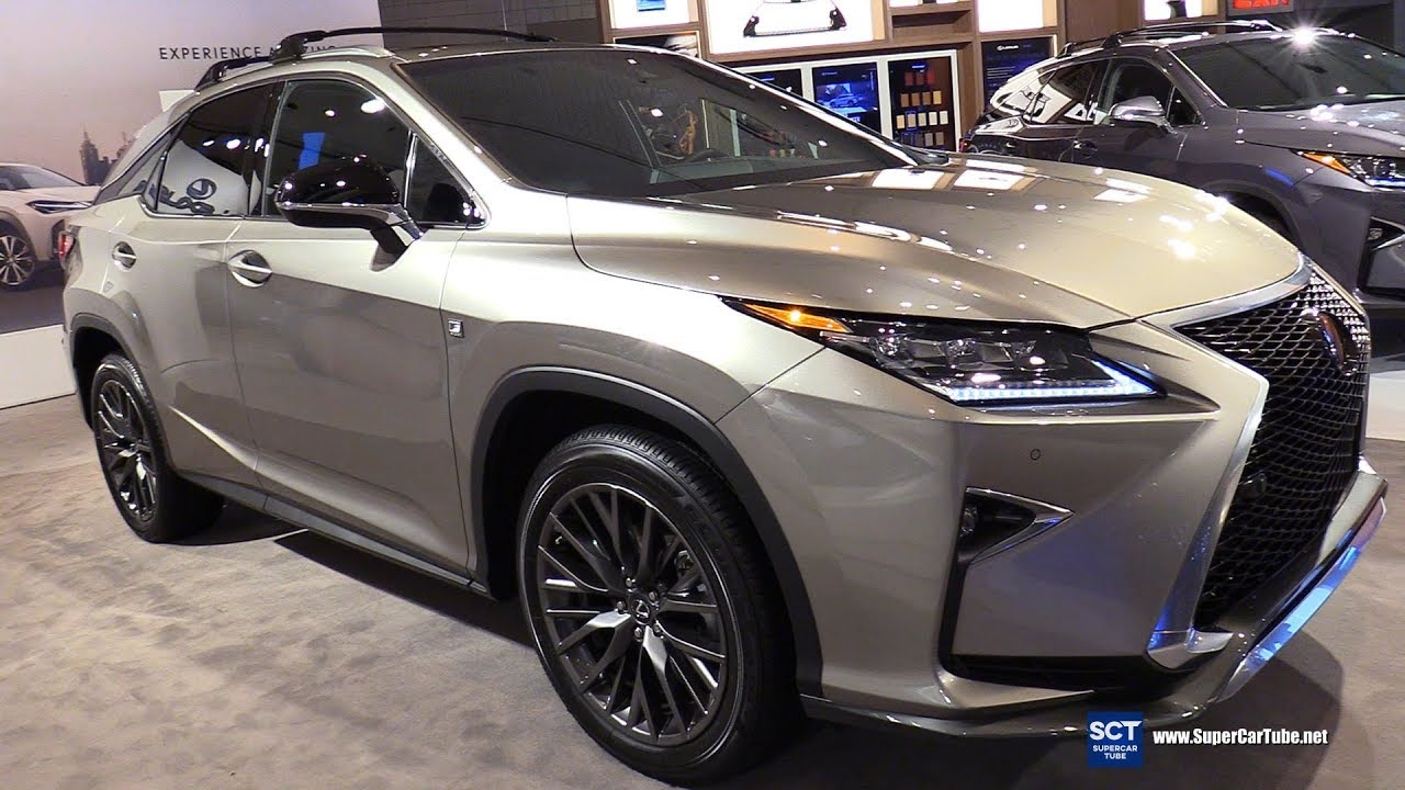 2018 Lexus Rx 350 F Sport Exterior And Interior Walkaround New York Auto Show