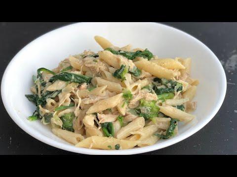 Chicken/ Broccoli and spinach pasta