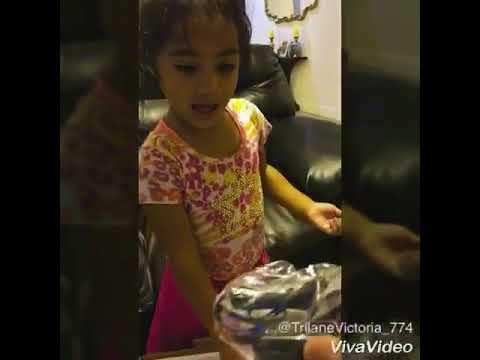 Victoria's 3rd Birthday Gift - Karaoke Machine