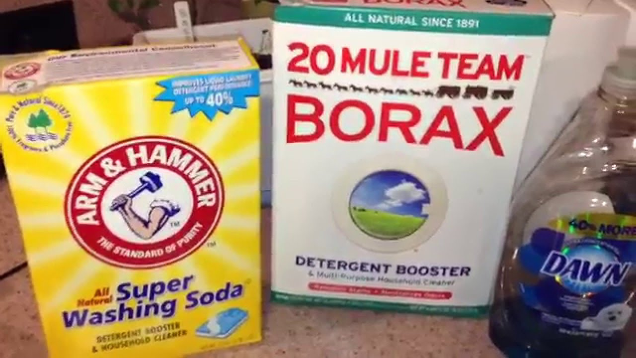 DIY Homemade Liquid Laundry Detergent