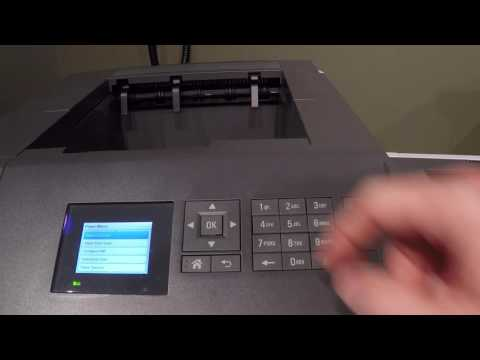 Lexmark printer paper tray setup