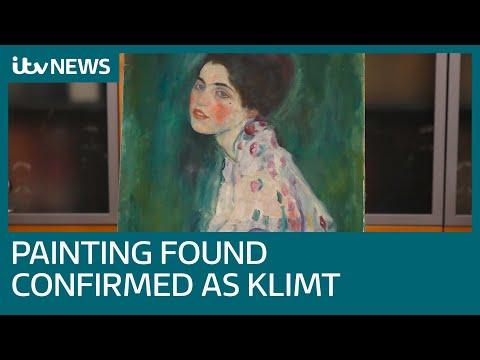 painting-found-inside-italian-gallery-wall-confirmed-as-a-genuine-work-of-gustav-klimt-|-itv-news