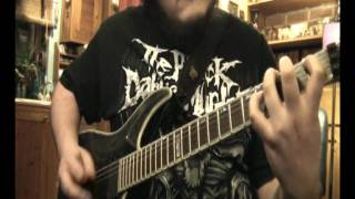 sea of treachery unleash the serpents guitar cover