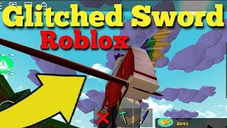 Glitched Roblox Sword in Build a Boat For Treasure(The Pain Bringer)