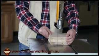 Harvey Bandsaw Assembly And Operation, Timber Work