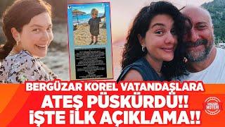 Bergüzar Korel Plajda Vatandaşlara Ateş Püskürdü!!