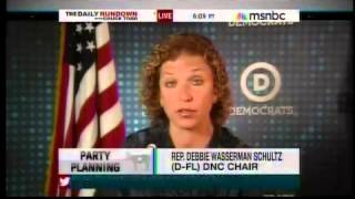 Dnc Chair Debbie Wasserman Schultz Discusses President Obama's Better Bargain Gop Civil War