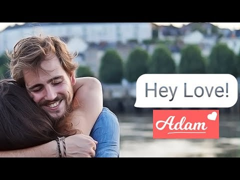 FINDING LOVE ON A MESSENGER APP? - Let's Play: Hey Love! Adam