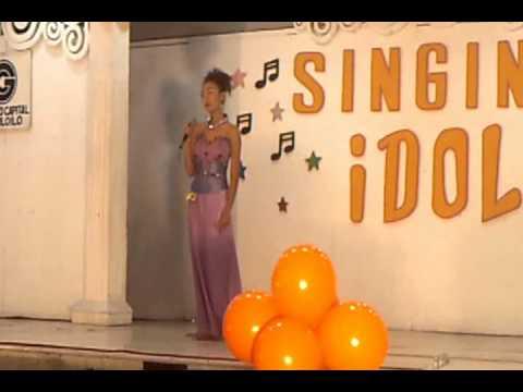 Cherry Callao @ Singing Idol Gaisano Capital grand finals part 2