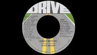 Peter Brown ft Betty Wright ~ Dance With Me 1978 Disco Purrfection Version