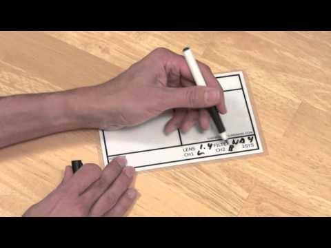 Dry Erase Clapper Slate For $8