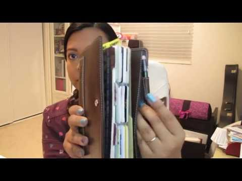 Organizing my wallet with a Compact Holborn Filofax Organiser