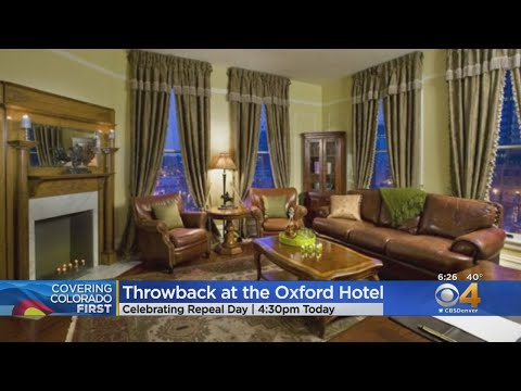 BEARDO - Oxford Hotel throws back to 1933 to celebrate 'Repeal Day'