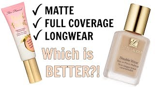 Comparing my Top 2 Full Coverage Matte Foundations | Which Wore Better?!