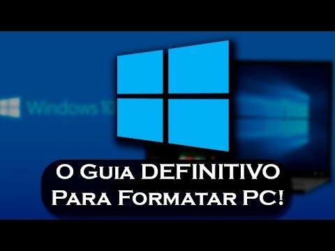 Como formatar o seu #Windows 10 [O Guia DEFINITIVO!]