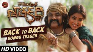 Gautamiputra Satakarni Back to Back Teasers   Balakrishna,Shriya Saran   Chirantan Bhatt Krish
