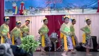 SD Asisi - Penampilan peserta lomba tari putri
