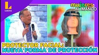 Protector facial, una nueva forma de protegerse (1 de Julio)