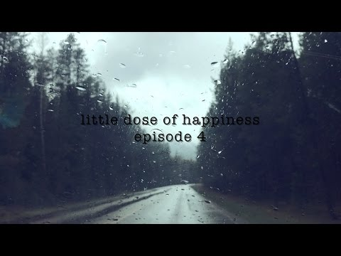 rainy day in glacier//little dose of happiness//ep 4