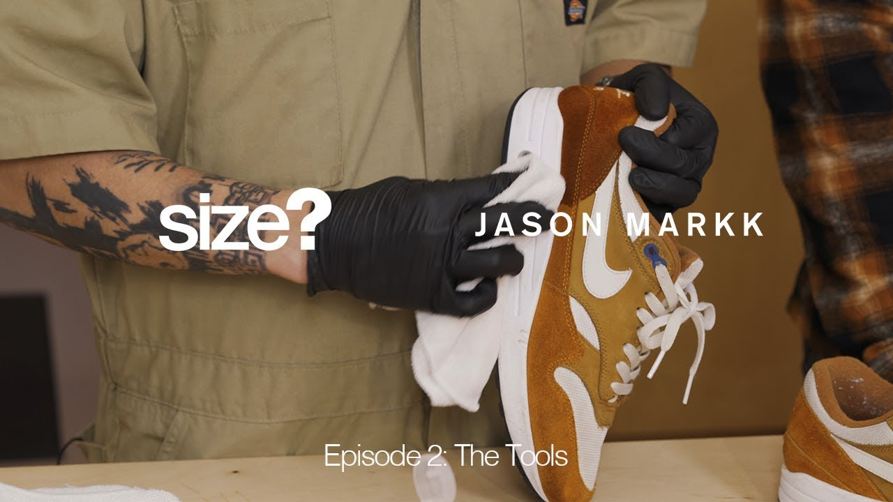 80df2235 Jason Markk Cleaning Series - Episode 2: The Tools - YouTube