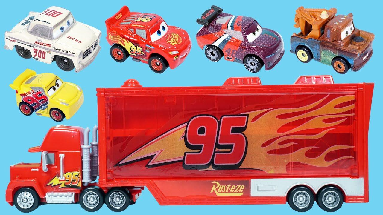賽車總動員的合金汽車玩具