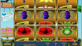 BUTTERFLY CLASSIC Spielgeld Casino Community Casoony mit 100 Freispielen Casino Bonus