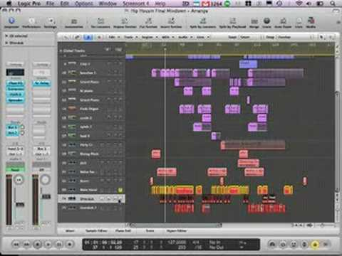 Logic Pro Tutorial - Deconstructing a remix - Cookie Monsterz ft. Tyree Cooper