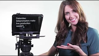 Datavideo Bluetooth Teleprompter Kits for Apple iPad and Android Tablets