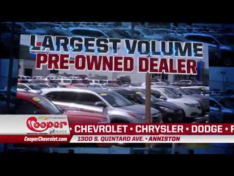 Cooper Chevrolet Buick in Anniston, AL - East Alabama's Volume Preowned Dealer