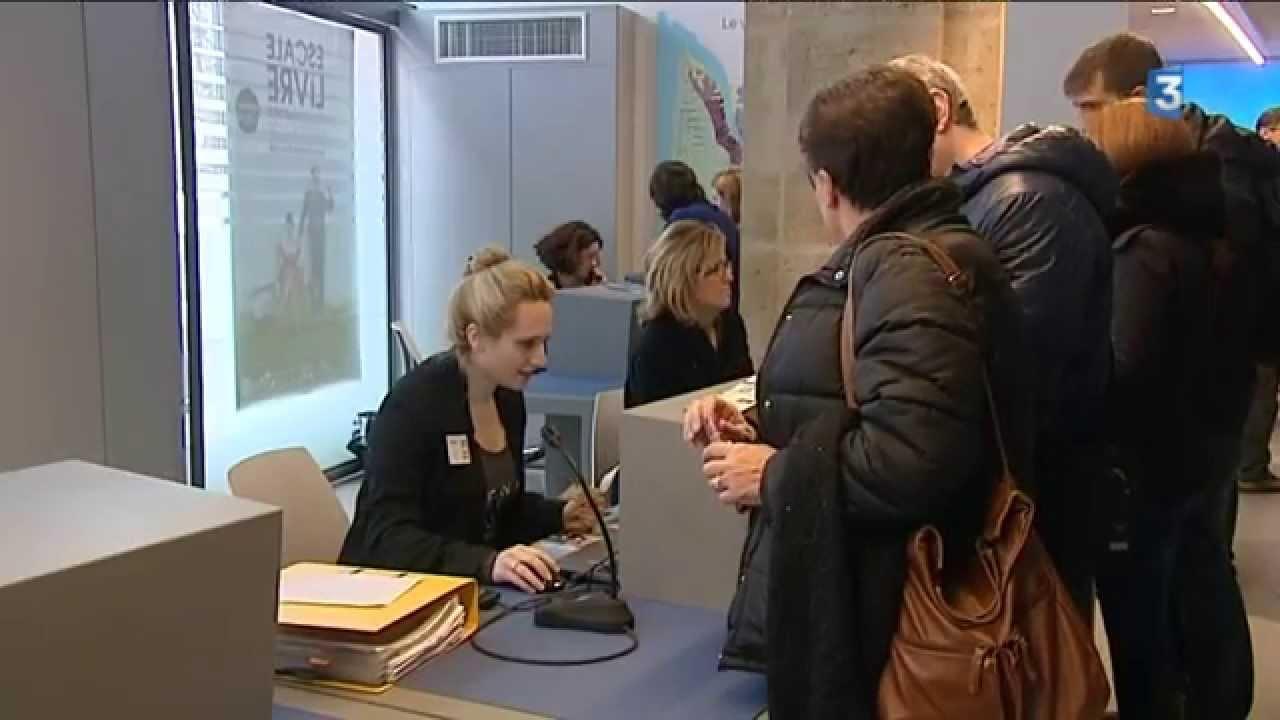 Bordeaux affluence au nouvel office de tourisme youtube - Office tourisme de bordeaux ...