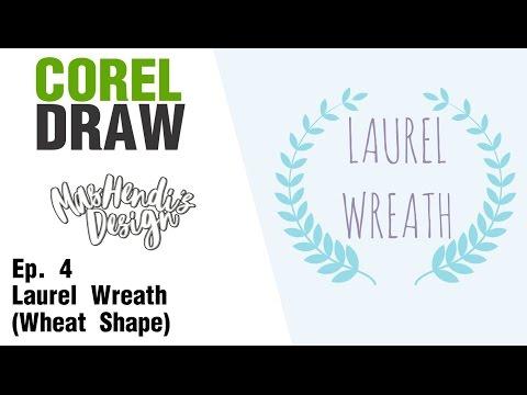 MHD - Tutorial Corel Draw #4 - Laurel Wreath