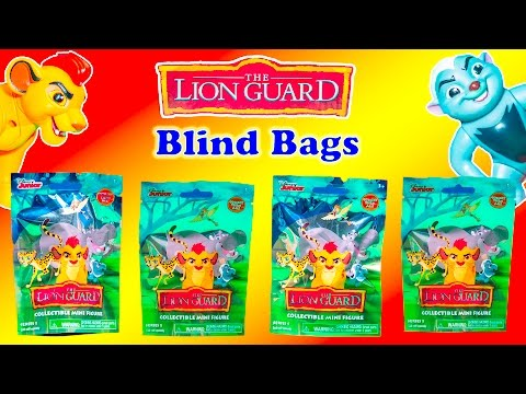 LION GUARD Disney Lion Guard Surprise + Doc McStuffins + Sofia Surprise Eggs Video