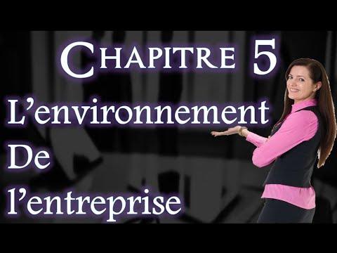 L'entreprise et Son Environnement Chapitre 5 : L'environnement de L'entreprise (Darija)