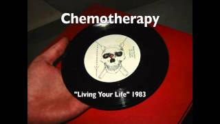 CHEMOTHERAPY, rare 1983 Indiana d.i.y. punk EP